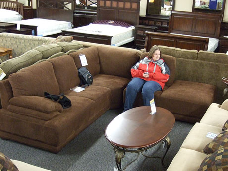 Shopping for a couch