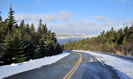 Blackhead Road from Cape Spear