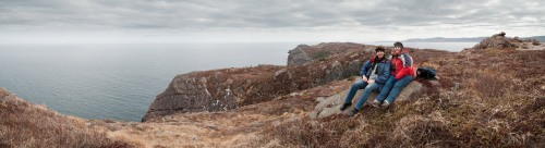 Sander & Marije - Bulgers Cove, Cape Spear Path