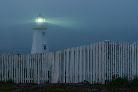 Lighthouse at dusk - Cape Spear