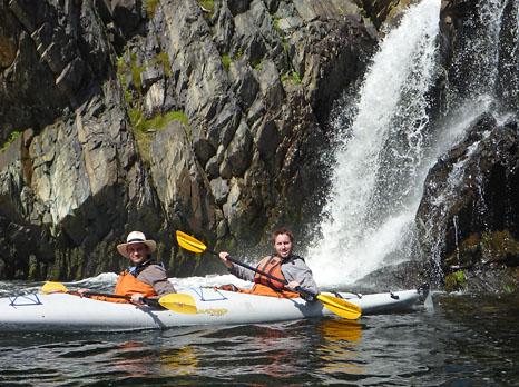 Rogier & Sander - Roaring Falls of Destruction, Cape Broyle
