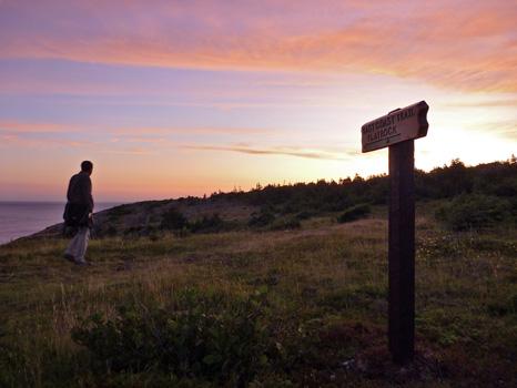 East Coast Trail Sunrise - Flatrock