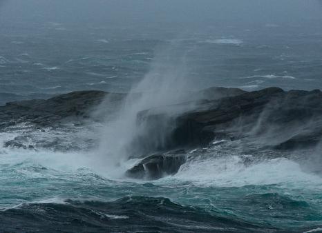 Fall storm - Flatrock