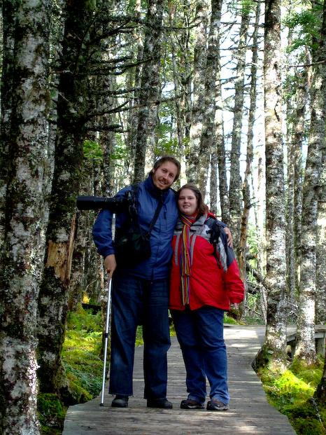 Me and Marije - Salmonier Nature Park