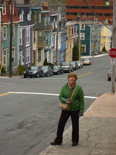 Walking the streets of St. John's