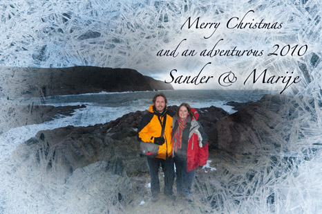 Merry Christmas from Sander & Marije