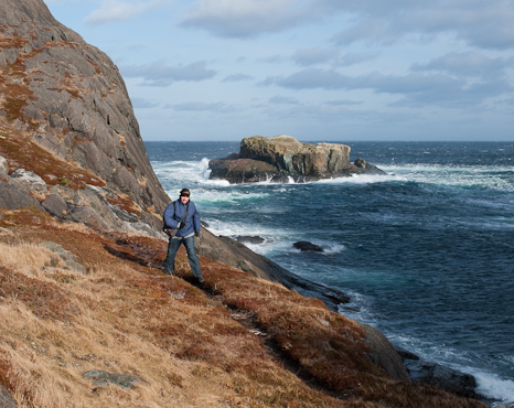 Me at Cripple Cove