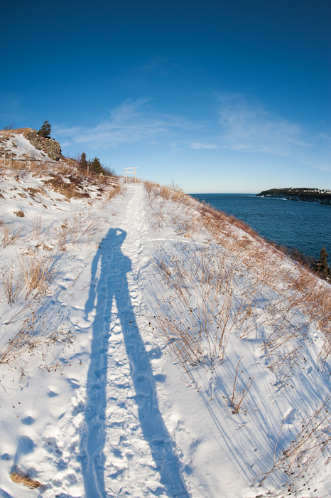 Long shadow - Torbay