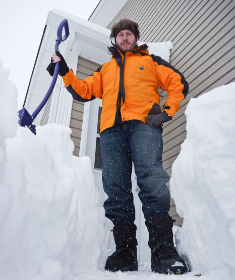 Yes, I am a snow clearing Giant! - Torbay