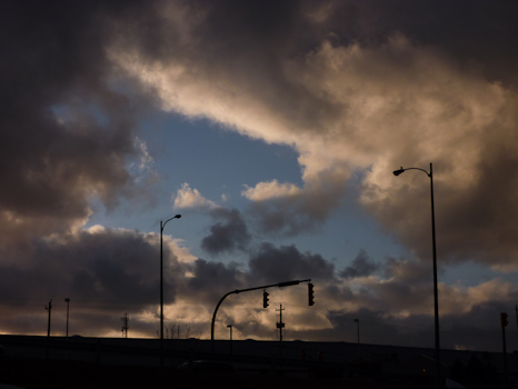 Clouds at dusk - St. John's