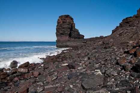 Iron ore beach - Bell Island