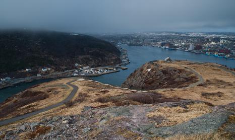 Signal Hill view - St. John's