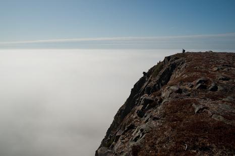 Top of the fog - Sugarloaf Path