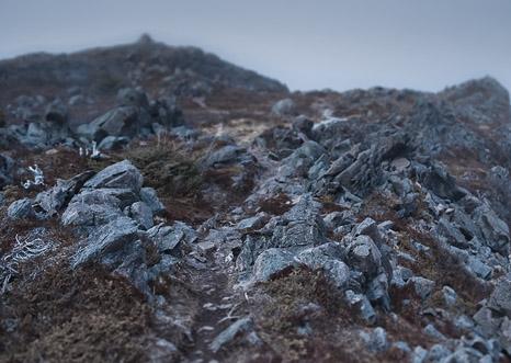 Emyn Muil - Sugarloaf Path