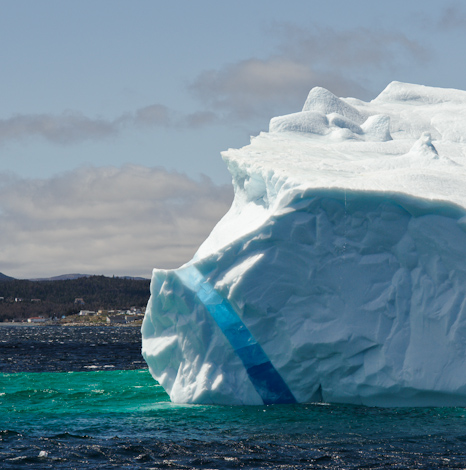 Iceberg, May 2009 - Witless Bay