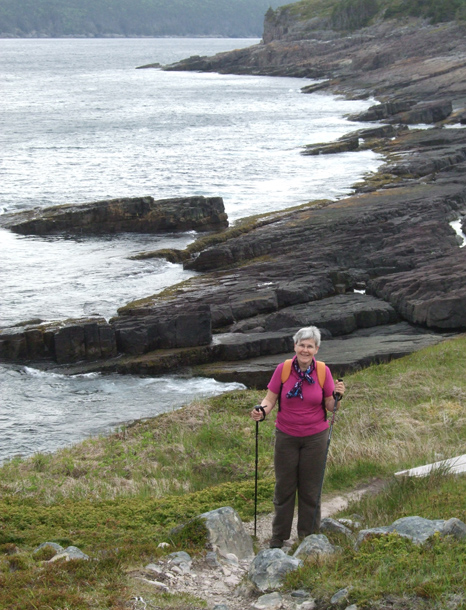 Mom at Useless Bay - Spout Path