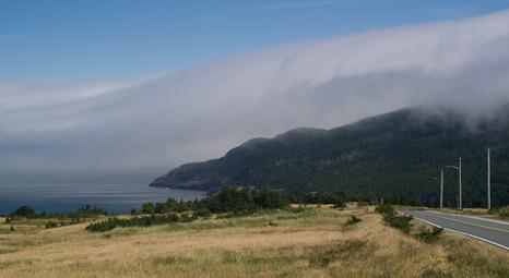 Fog rolling in - Marine Drive