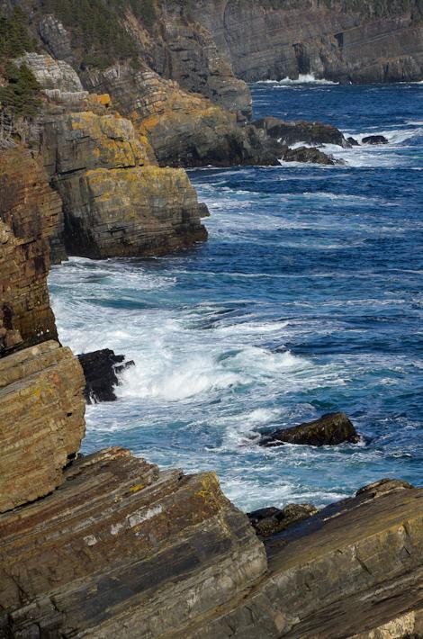 Cliffs & Ocean - Stiles Cove Path