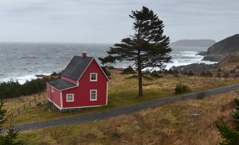 Famous house - Tors Cove