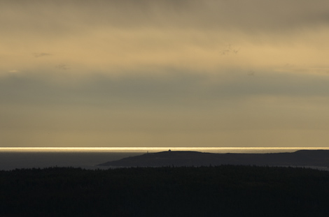 Cape Spear seen from 13km away - Cobbler Path