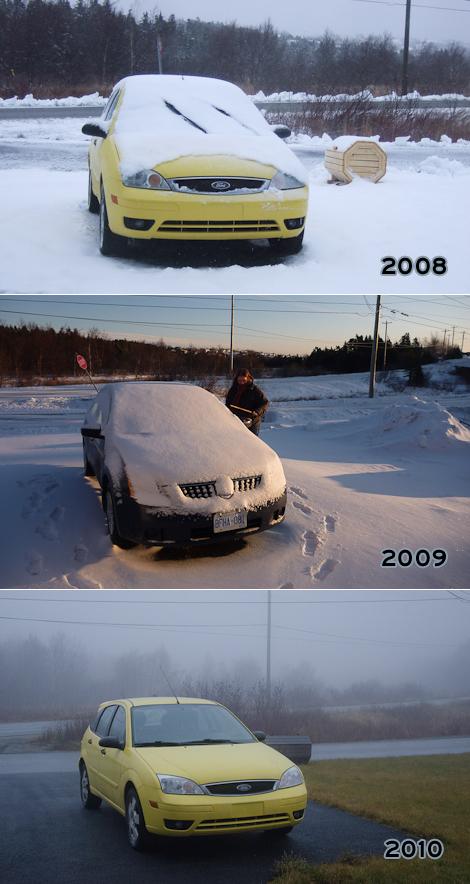 December 18, 2008/2009/2010 - Torbay