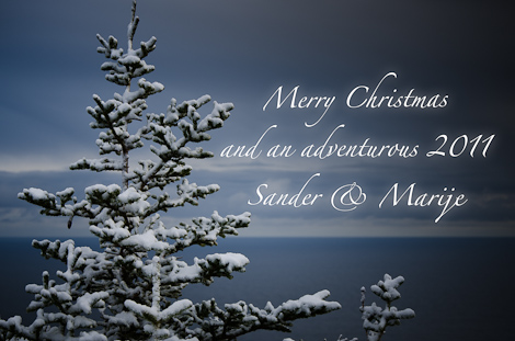 Merry Christmas and an adventurous 2011