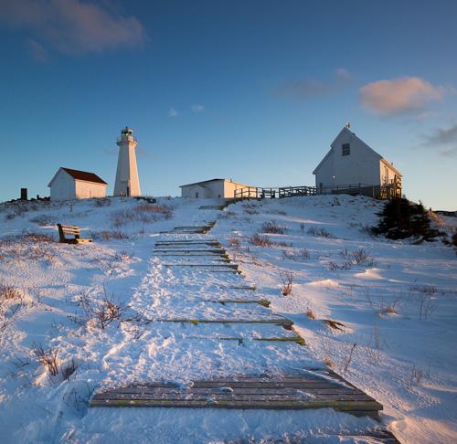 Lighthouse sunset - Cape Spear