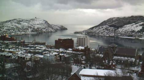 CBC HarbourCam, February 1 2011