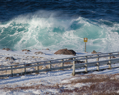 Nice waves - Cape Spear
