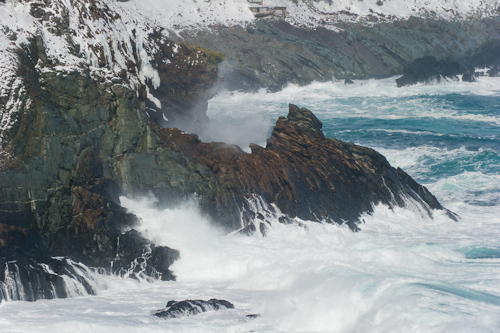 Blustery ocean - Middle Cove