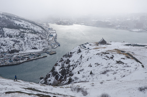 Flurries over St. John's - St. John's