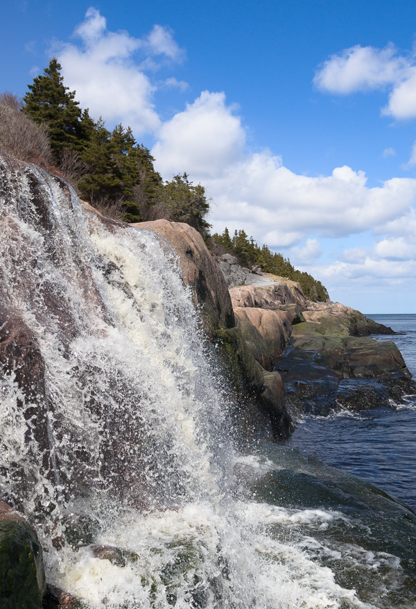Waterfall - Deadmans Bay Path