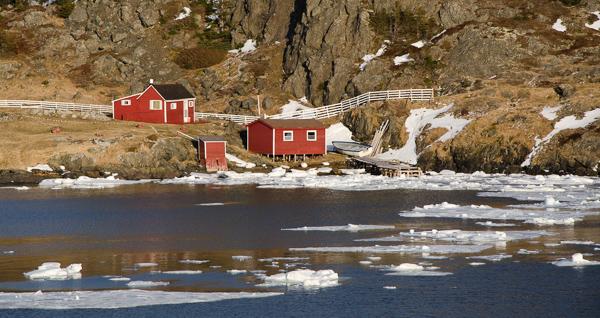 Spring scenery - Salt Harbour