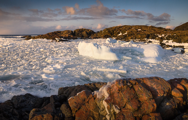 Remains of an iceberg - Salt Harbour