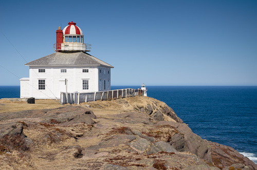 Old lighthouse - Cape Spear National Historic Site