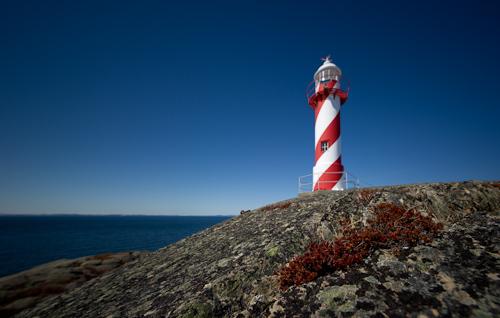 Lollipop lighthouse - Heart's Content