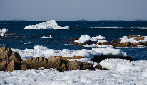 Small iceberg - Barr'd Islands