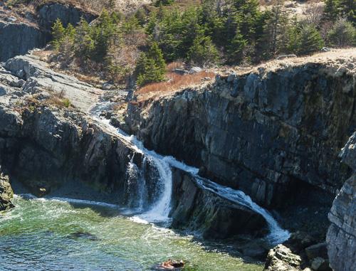 Freshwater slide - Spout Path