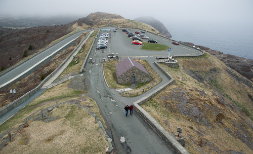 View from the top of Cabot Tower - St. John's