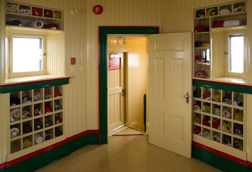 Flag room in Cabot Tower - St. John's