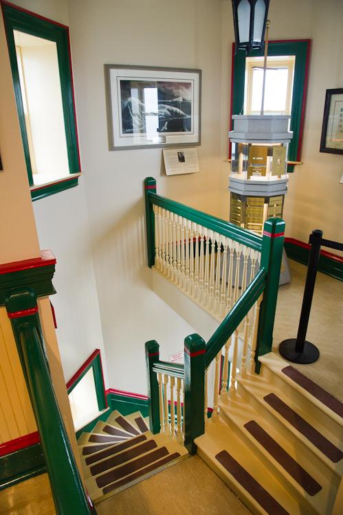 Inside Cabot Tower - St. John's