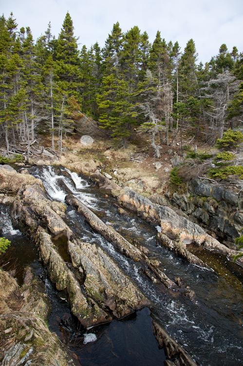 North Pond Brook crossing - Silver Mine Head Path