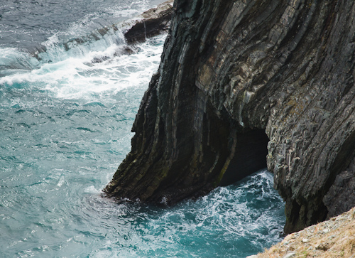 Small sea cave - Silver Mine Head Path