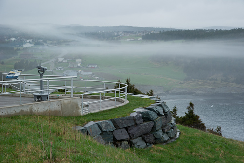 Fog patches - Middle Cove