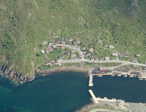 The North trailhead is located in Petty Harbour, in the hills beyond Cavell's Lane.