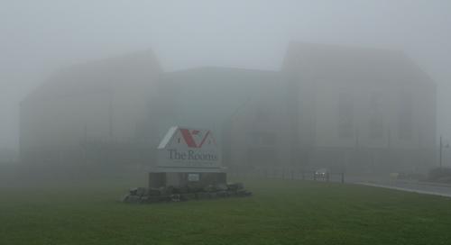 The Rooms in the fog - St. John's