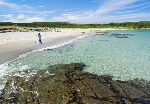 Paradise beach - Sandy Cove, Fogo Island