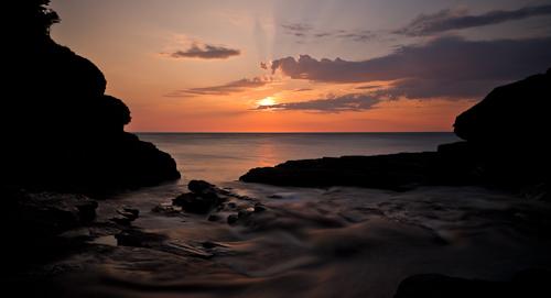 Summer sunrise - Stiles Cove Path