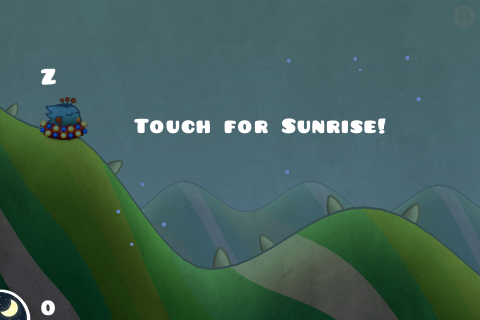 Touch for sunrise - Tiny Wings