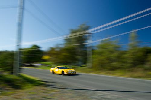 Yellow Corvette - Torbay